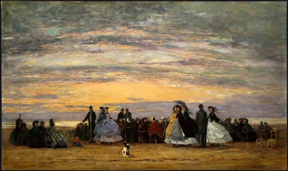 The_Beach_at_Villerville,_Eugène_Boudin,_1864.jpg